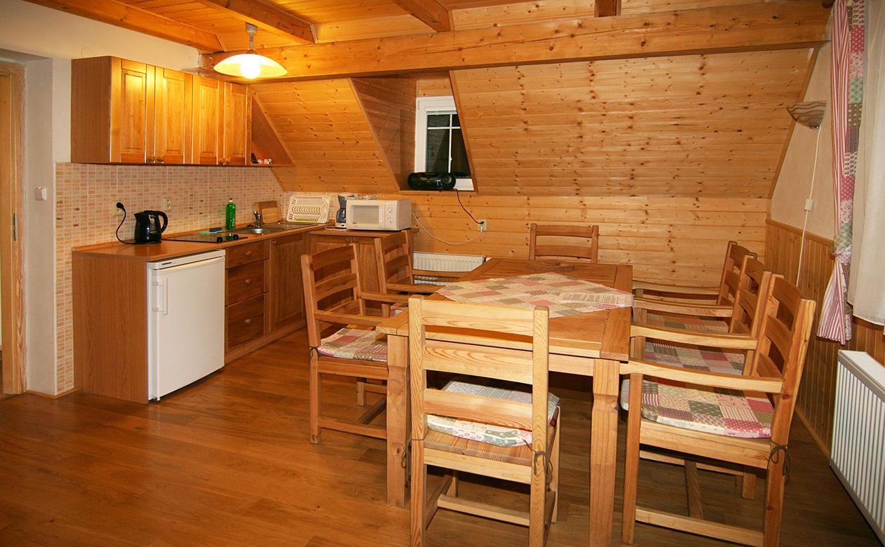 Apartmány Bedřichov chalupa 352 - ubytování Bedřichov 352 Jizerské hory - Bedřichov apartmán č. 3 Jizerky