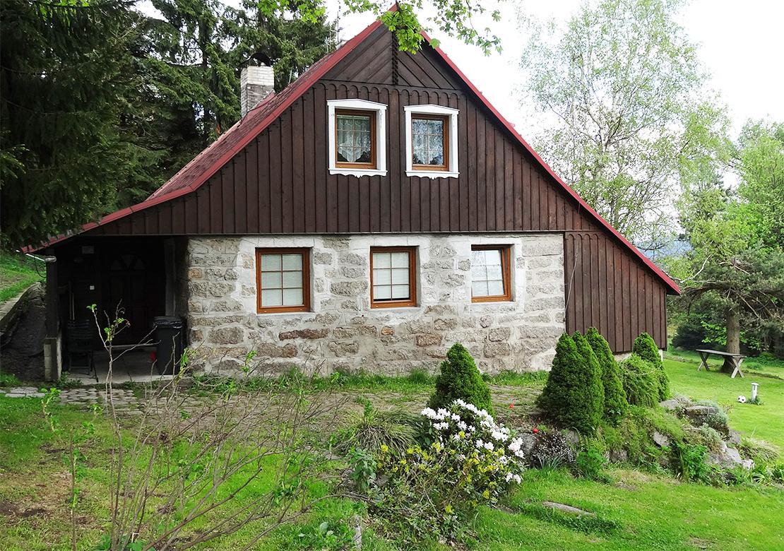 Wohnungen Bedrichov - Ferienhaus 312 - Sommersaison - Unterkunft Bedrichov