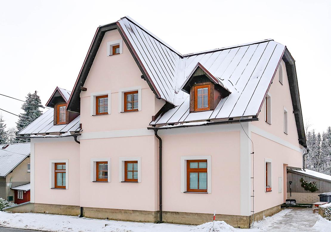 Apartmány Bedřichov chalupa 1718 - ubytování Bedřichov - chalupa 1718 - ubytování Jizerské hory - zimní sezóna v Bedřichově - thumb
